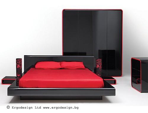 Спален комплект Авантюрин мебели Ергодизайн