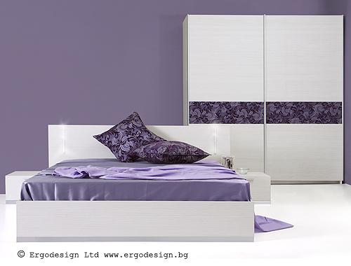 Спални комплекти Ергодизайн-Спален комплект Флора