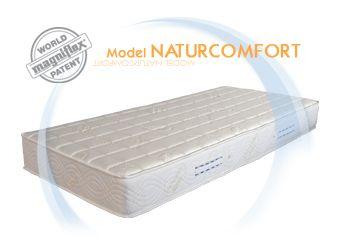 Magniflex – ортопедичен матрак Naturcomfort Eko  6% и мемори възгланица