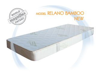 Промоция Magniflex -ортопедичен матрак Relano Bamboo  6% и мемори възгланица