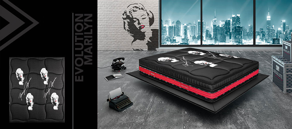 Permaflex Evolution Vintage.Memory Mattresses Permaflex Absolute Evolution Marilyn