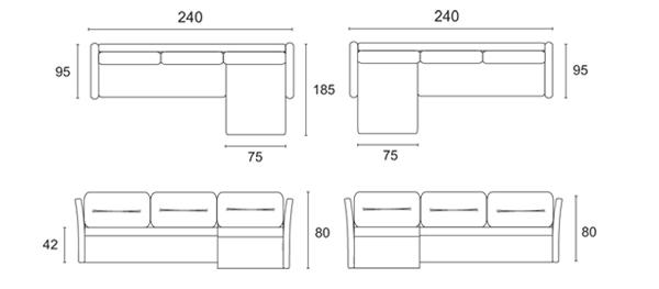 Равена холна мебел
