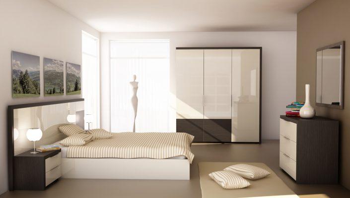 Спален комплект Урбан1