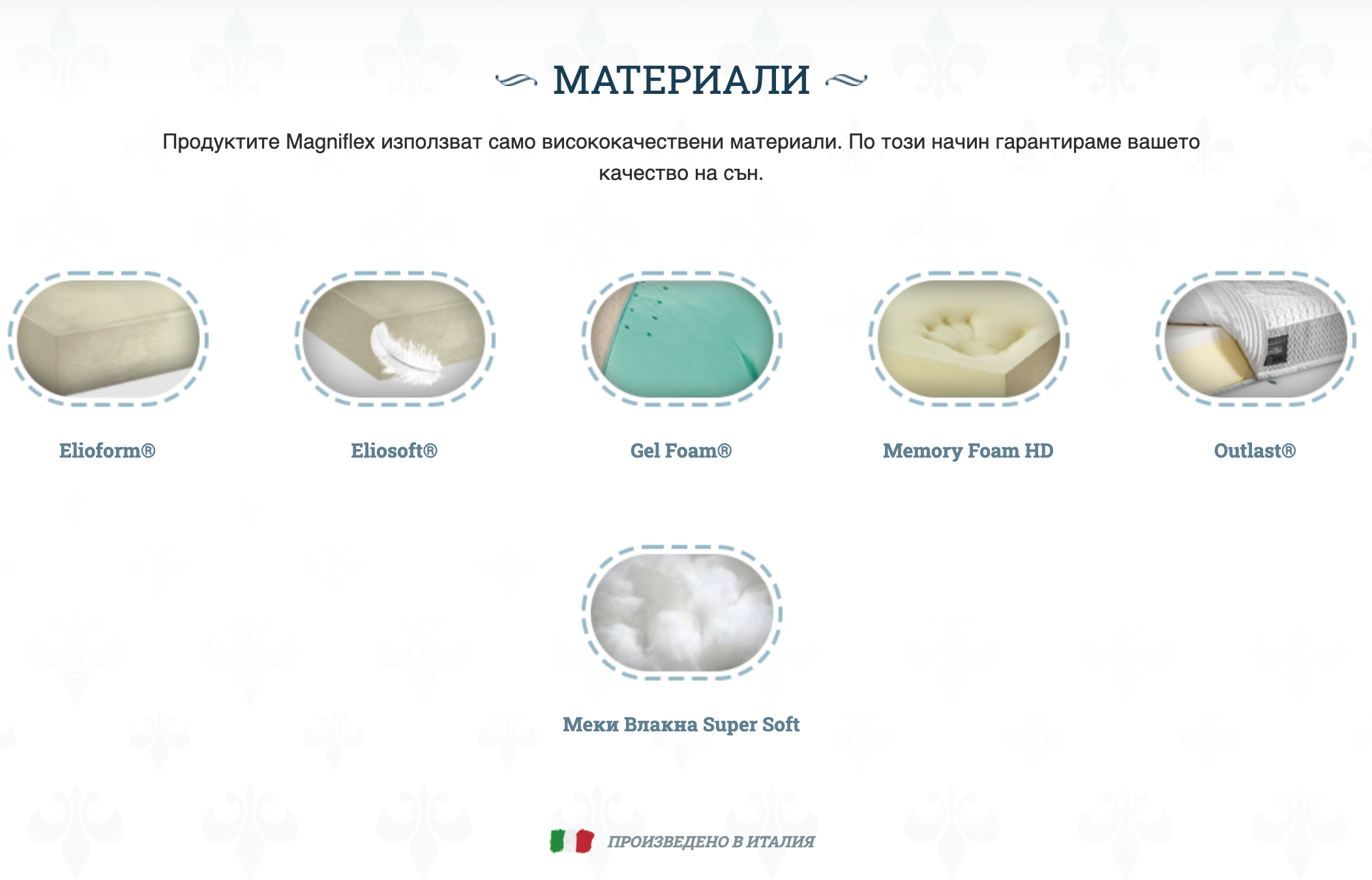Элитные матрасы Magniflex Diamante Dual